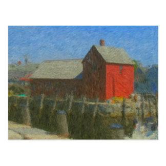 Motif #1 Impressionist Postcard