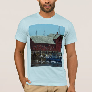 """""""Motif  #1, Rockport, MA"""" T-Shirt"""