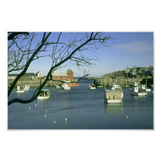 Motif # 1 - Rockport, Massachusetts Poster