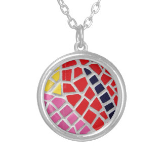 motif 1 silver plated necklace