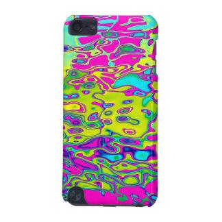 Motif abstrait coloré fou brillamment coloré coque iPod touch 5G