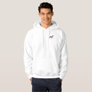 Motif and Large Backprint Springer Spaniel Hoodie