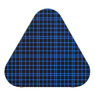 Motif bleu et noir de tuiles haut-parleur bluetooth