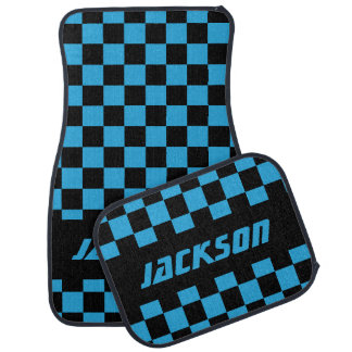 Motif Checkered | de drapeau de voiture de course Tapis De Voiture