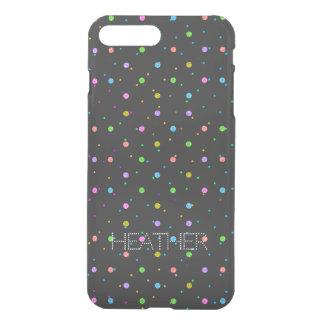 Motif coloré de à petits pois coque iPhone 7 plus