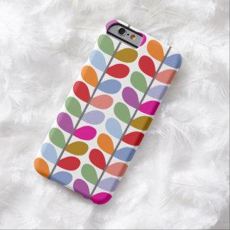 Motif coloré de feuille coque iPhone 6 barely there