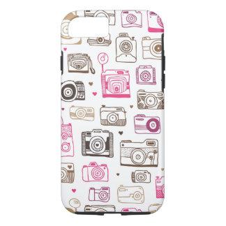 Motif d'appareil-photo de lomo de photo de jouet coque iPhone 7