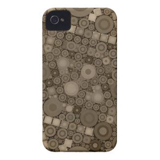Motif de Brown Polkadot Coque Case-Mate iPhone 4