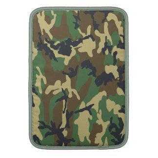 Motif de camouflage de région boisée poche pour macbook air