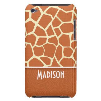 Motif de girafe de Brown Étui iPod Touch