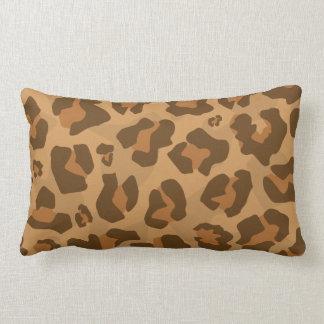 Motif de puma de Jaguar de puma de guépard de Coussin Rectangle