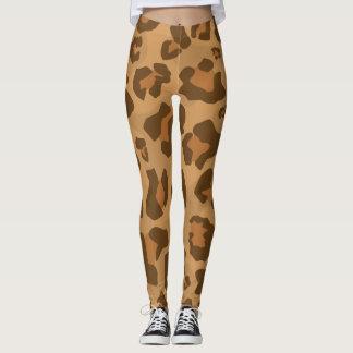 Motif de puma de Jaguar de puma de guépard de Leggings