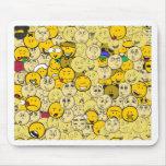 Motif d'Emoji Tapis De Souris