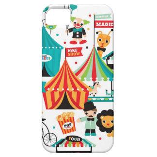 Motif d'illustration d'animaux de cirque et de foi coque barely there iPhone 5