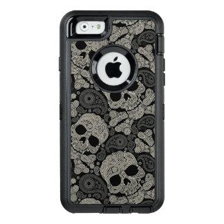 Motif d'os croisés de crâne de sucre coque OtterBox iPhone 6/6s