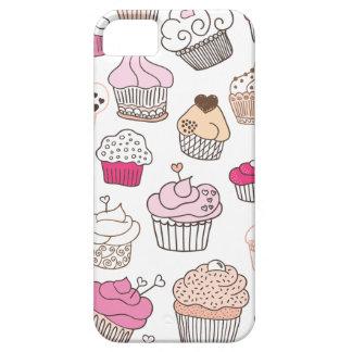 Motif doux de gâteau de sucrerie de petit gâteau coque Case-Mate iPhone 5