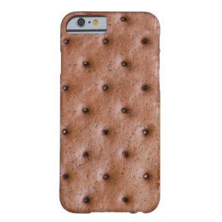 Motif drôle de sandwich à crème glacée coque iPhone 6 barely there