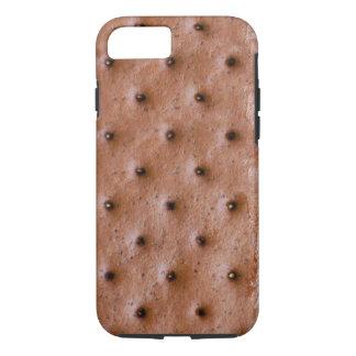 Motif drôle de sandwich à crème glacée coque iPhone 7