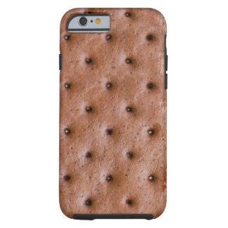 Motif drôle de sandwich à crème glacée coque tough iPhone 6