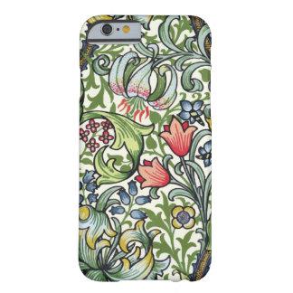 Motif floral de chintz de lis d'or de William Coque iPhone 6 Barely There