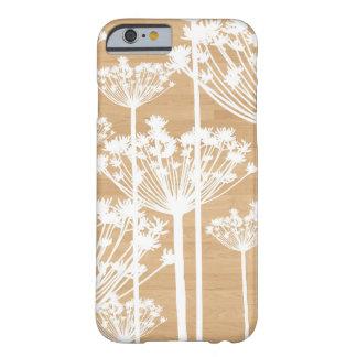 Motif floral girly de fleurs en bois de Faux
