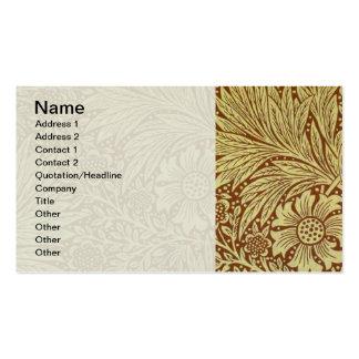 Motif floral vintage de papier peint de souci