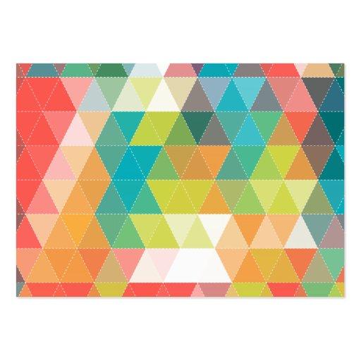 Motif frais de hippie modèle de carte de visite