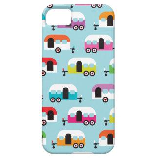 Motif hippie de caravane de profondément satisfait étuis iPhone 5