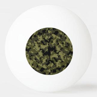 Motif militaire de style de camouflage balle tennis de table