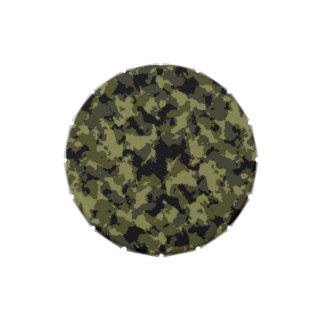 Motif militaire de style de camouflage boite à bonbons