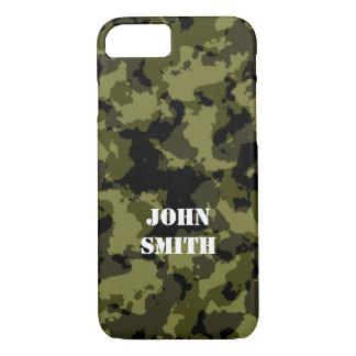 Motif militaire de style de camouflage coque iPhone 7