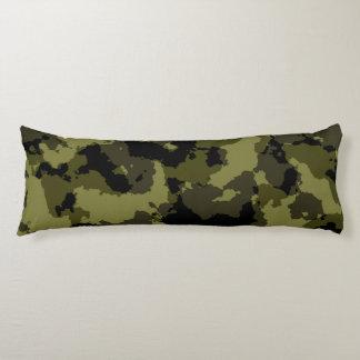 Motif militaire de style de camouflage coussins longs