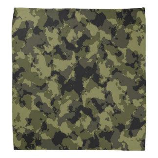 Motif militaire de style de camouflage foulards