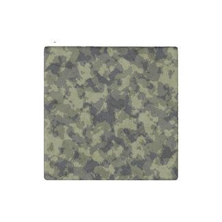 Motif militaire de style de camouflage magnet en pierre