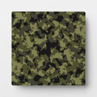 Motif militaire de style de camouflage photos sur plaques