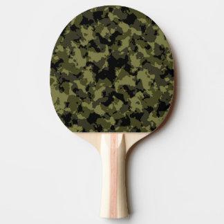 Motif militaire de style de camouflage raquette tennis de table