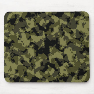Motif militaire de style de camouflage tapis de souris