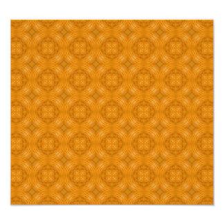 Motif orange à la mode de cercle photographe