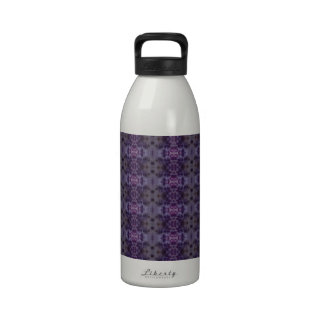 Motif pourpre d abrégé sur iris bouteille