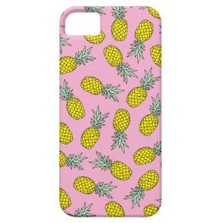 Motif rose d'illustration de fruit d'ananas d'été coques Case-Mate iPhone 5