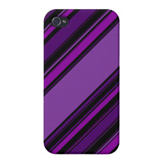 "Motif statique de ""prune"" coques iPhone 4/4S"