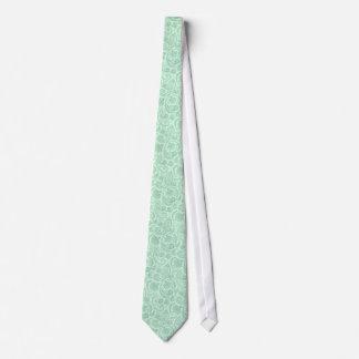 Motif vintage de Paisley de dentelle de tons Cravate