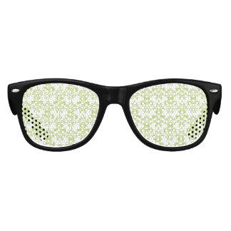Motif vintage vert clair 2 de damassé party shades