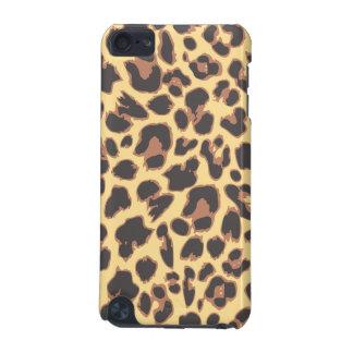 Motifs de peau d'animal d'empreinte de léopard coque iPod touch 5G