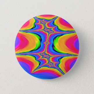 Motions of Existence Fractal 2 Inch Round Button
