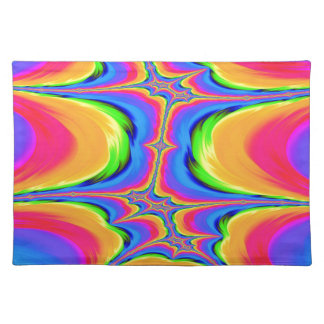 Motions of Existence Fractal Placemat