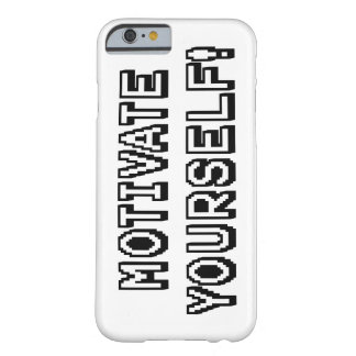 Motivate yourself barely there iPhone 6 case