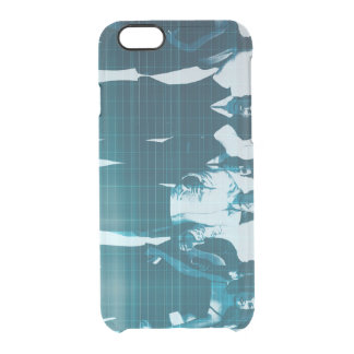 Motivated Workforce and Staff Employees Smiling Clear iPhone 6/6S Case