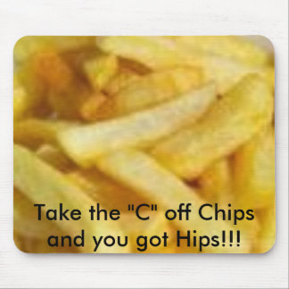 Motivating Chips Mouse Pad