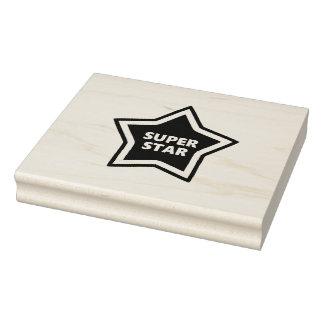 Motivating Super Star Ink Stamp